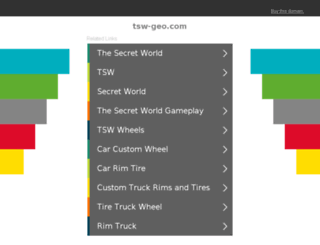 tsw-geo.com screenshot