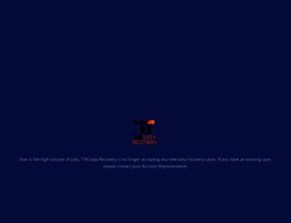 ttrdatarecovery.com screenshot