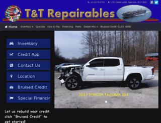 ttrepairables.com screenshot