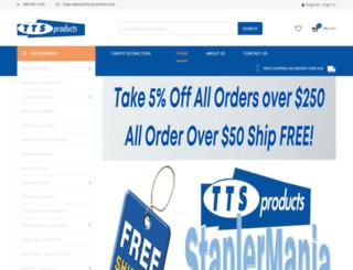 tts-products.com screenshot