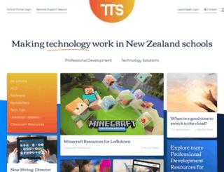 tts.co.nz screenshot