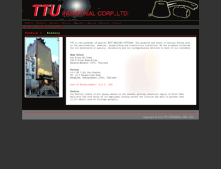 ttu.co.th screenshot