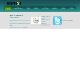 tucarroya.com screenshot