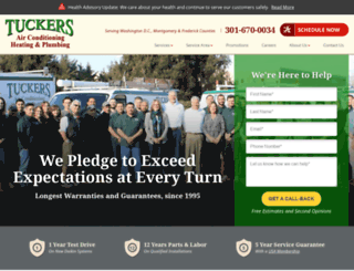 tuckersac.com screenshot