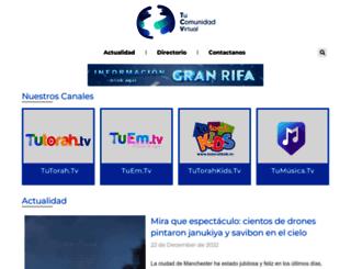 tucomunidadvirtual.com screenshot
