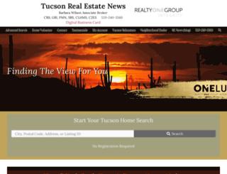 tucsonazrealestateblog.com screenshot