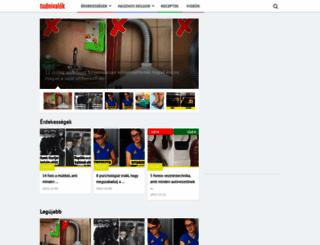 tudnivalok.eu screenshot