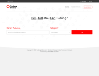 tudungonline.com screenshot