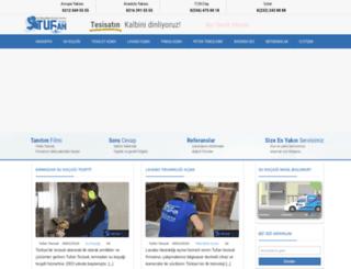 tufantesisat.com.tr screenshot