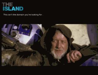 tug.theisland.agency screenshot