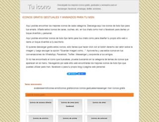 tuicono.com screenshot