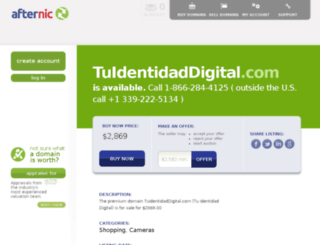 tuidentidaddigital.com screenshot