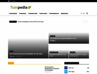 tuinpedia.nl screenshot
