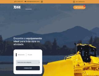 tukarental.com.br screenshot