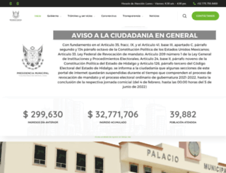 tulancingo.gob.mx screenshot