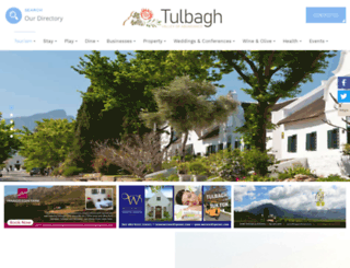 tulbaghtourism.co.za screenshot