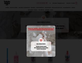 tulipannegro.es screenshot