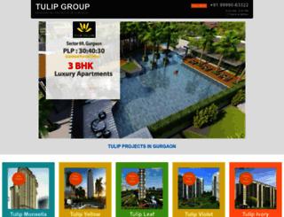 tulipgurgaon.in screenshot