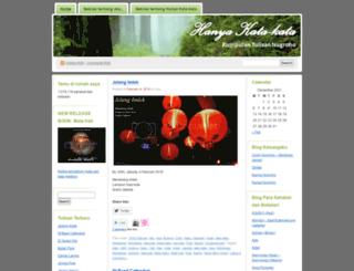 tulisannugroho.wordpress.com screenshot