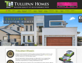 tullipanhomes.com.au screenshot