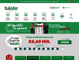 tuloto.com screenshot