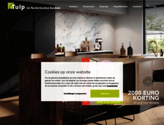 tulpkeukens.nl screenshot