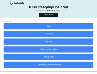 tulsalifestylepubs.com screenshot
