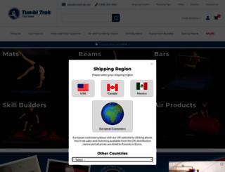 tumbltrak.com screenshot
