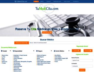 tumedicita.com screenshot