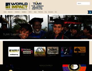tumi.org screenshot