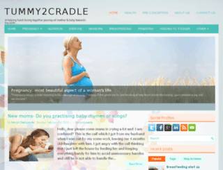 tummy2cradle.com screenshot