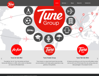 tunegroup.com screenshot