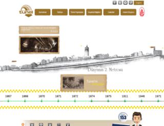 tunel.iett.gov.tr screenshot