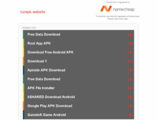 tunepk.website screenshot