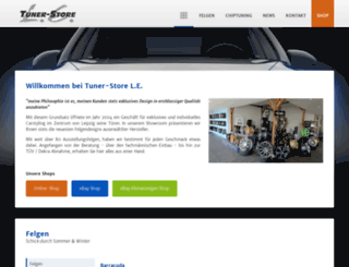 tuner-store-le.de screenshot