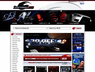 tunersdepot.com screenshot
