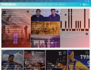 tuniculture.net screenshot