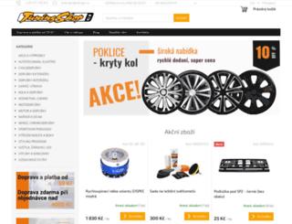 tuningshop.cz screenshot