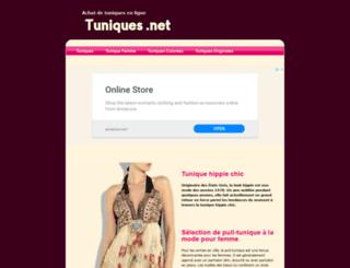 tuniques.net screenshot