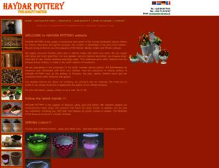 tunisia-pottery.com screenshot