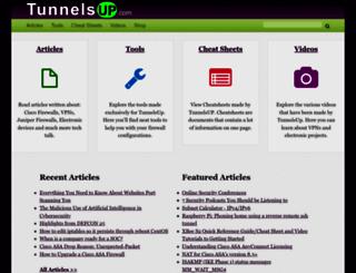 tunnelsup.com screenshot