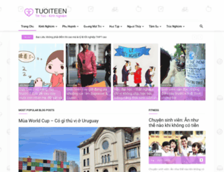 tuoiteen.edu.vn screenshot