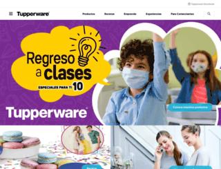 tupperware.com.ve screenshot