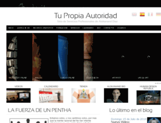 tupropiaautoridad.com screenshot