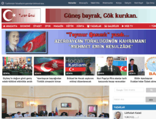 turansesi.com screenshot
