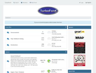 turboford.org screenshot