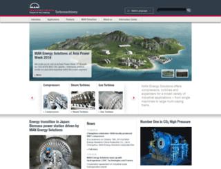 turbomachinery.man.eu screenshot