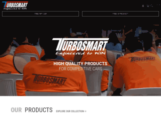turbosmart.com.au screenshot