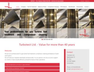 turbotect.com screenshot