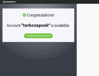 turbozapusk.clickwebinar.com screenshot
